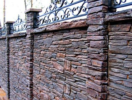 забор из доломита