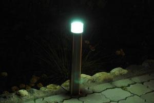 парковочный столбик с освещением