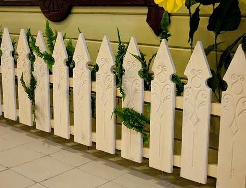 резная ограда