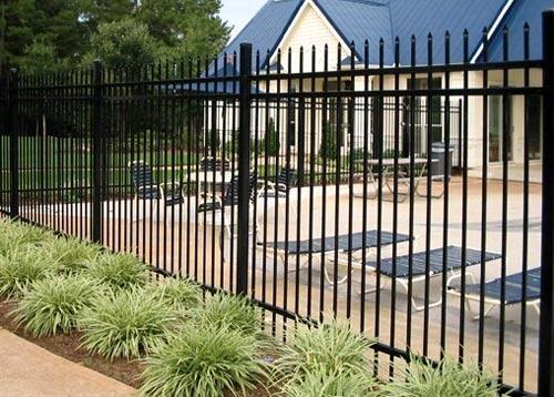 забор из сварных прутьев
