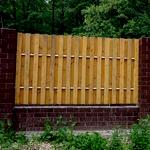 Комбинированные заборы для загородных домов