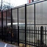 Заборы из поликарбоната