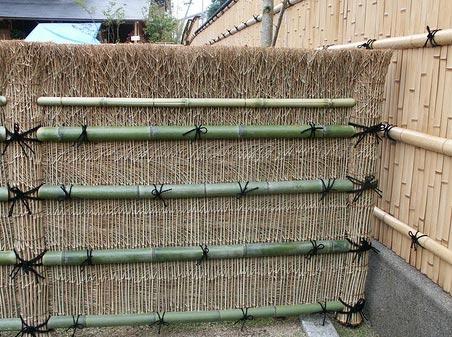 крепление бамбука