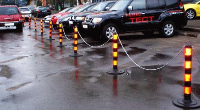 парковка в жилом секторе