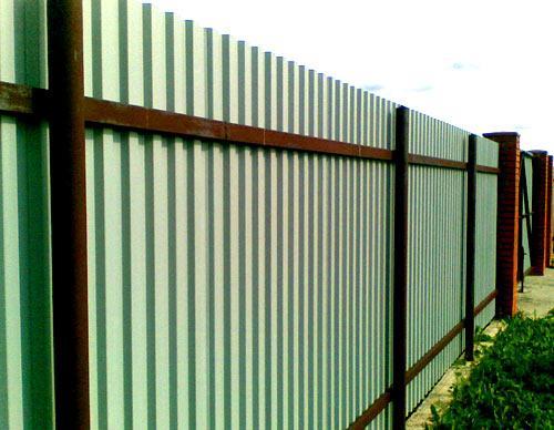 профильный забор