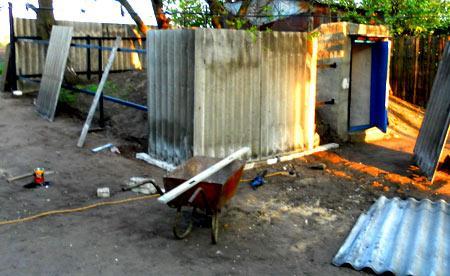 забор волновой шифер