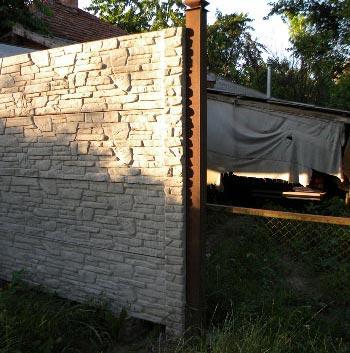 столб для ворот