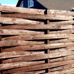 Забор австрийская плетенка