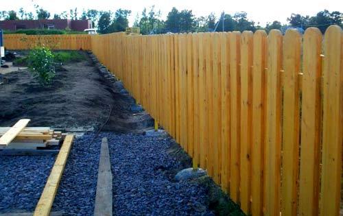 укрепление ограды