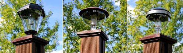 светильники для столбов