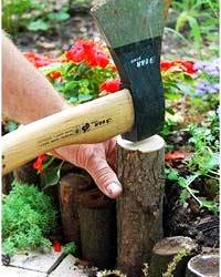 установка деревянной ограды