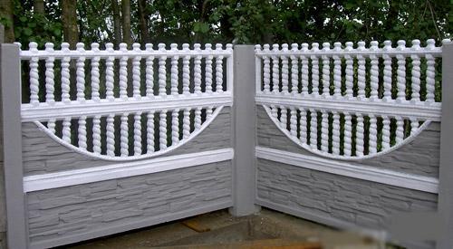 забор из плит