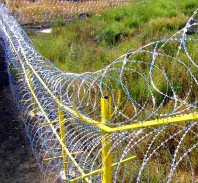 забор лента егоза