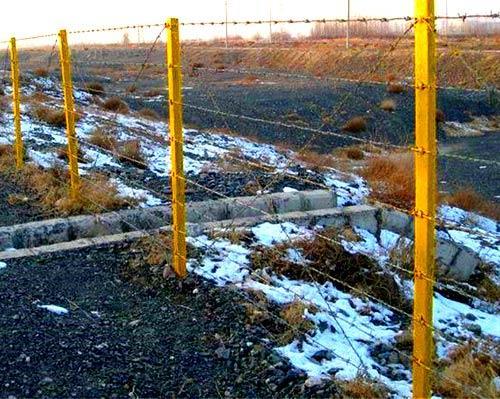 ограда профильные трубы