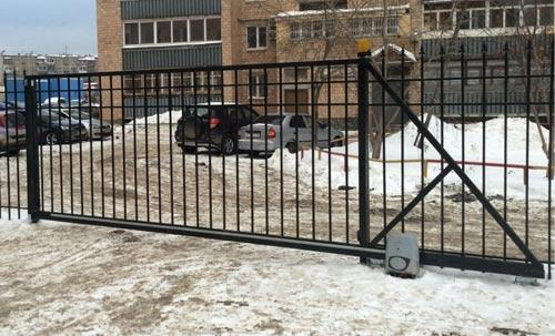 откатные автоматические ворота