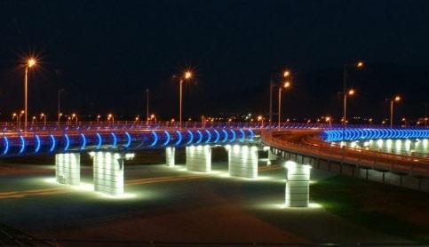 Подсветка дорожных ограждений