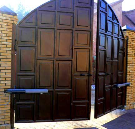 ворота листовый металл