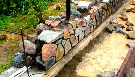 шнур для кладки камня