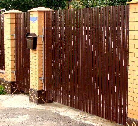 ворота калитка штакетник