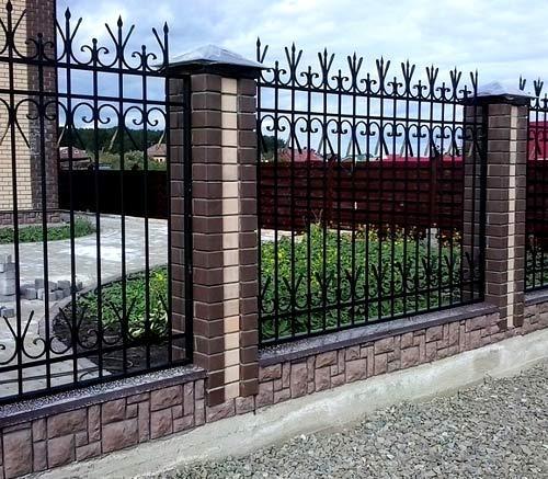 сваренный забор
