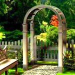 Различные виды садовых калиток
