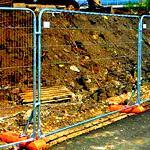 Временные ограждения строительных площадок