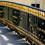 Ограждение моста