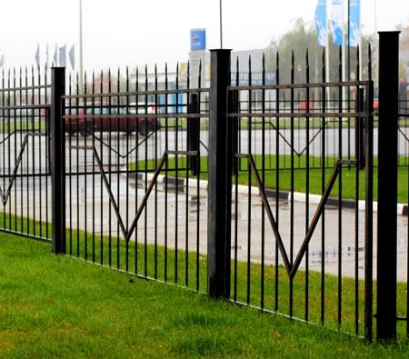 прозрачная ограда