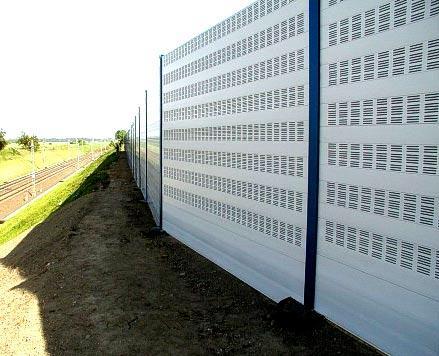 шумоизоляционный забор