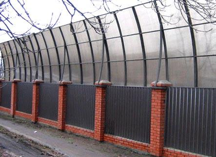 шумоизоляционная ограда
