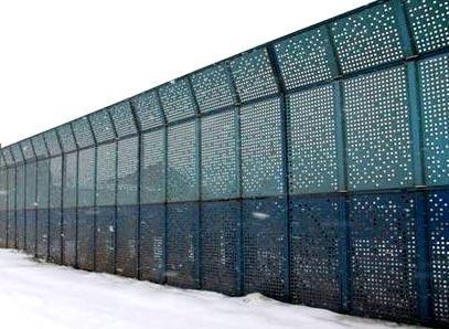 Забор для шумоизоляции своими руками 85