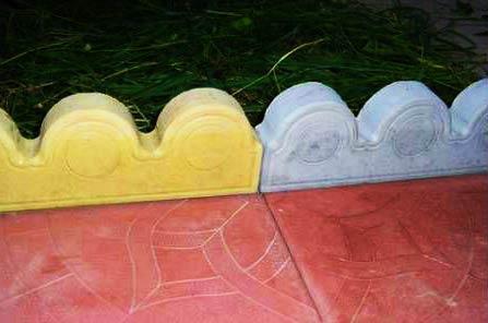 бетонный бордюр