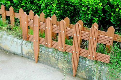 садовый декоративный заборчик