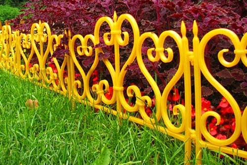 приподнятый забор