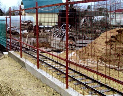 ограда между участками
