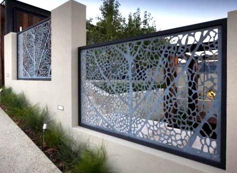 забор металлические секции