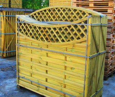деревянные секции