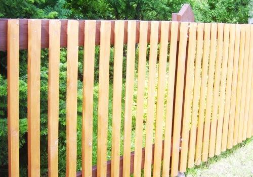 деревянный штакетник