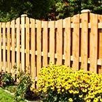 Декоративные деревянные заборы для сада