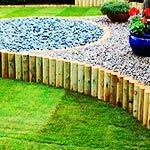 Как сделать декоративный заборчик для садовых клумб