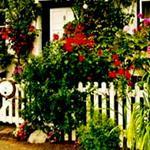 Садовые декоративные заборчики