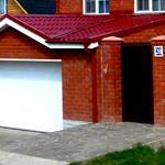 Проекты и строительство заборов совмещенных с гаражом