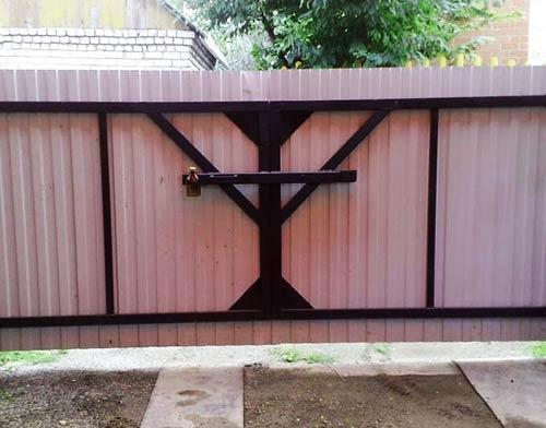 вертушка ворота