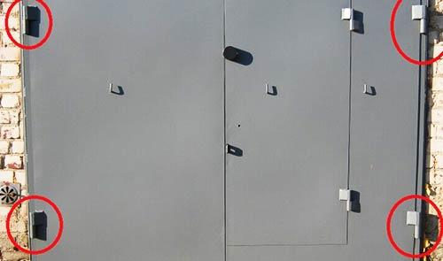 петли гаражных ворот