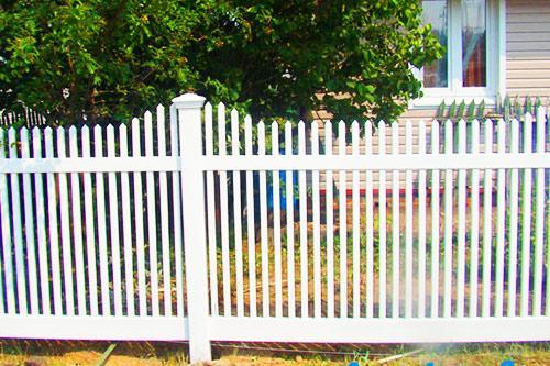 пластиковый забор кантри