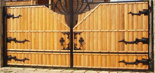 петли для ворот
