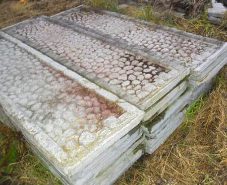 бетонные секции забора