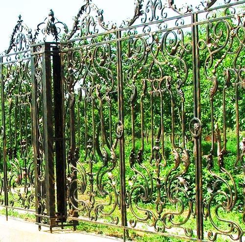 столбы забор металл