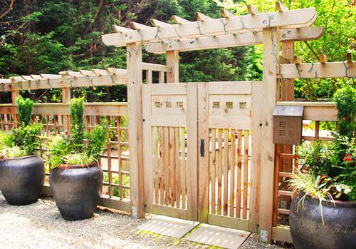 забор японский стиль