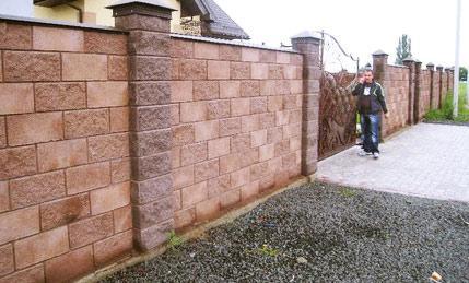 Ограда из французского камня